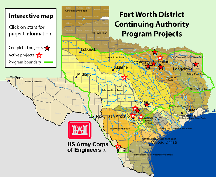 the u s army corps of engineers continuing authorities program cap is a useful tool to support smaller community projects without the lengthy study and