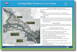 Existing Dallas Floodway Levee System
