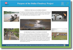 Purpose of the Dallas Floodway Project