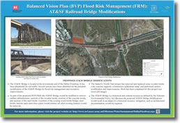 Balanced Vision Plan (BVP) Flood Risk Management (FRM): AT&SF Railroad Bridge Modifications