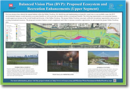 Balanced Vision Plan (BVP): Proposed Ecosystem and Recreation Enhancements (Upper Segment)