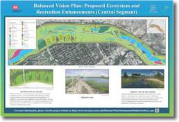 Balanced Vision Plan: Proposed Ecosystem and Recreation Enhancements (Central Segment)