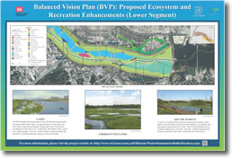 Balanced Vision Plan (BVP): Proposed Ecosystem and Recreation Enhancements (Lower Segment)