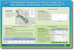 Environmental Consequences: Land Use, Geology and Soils, Hydrology and Hydraulics, and Water Resources