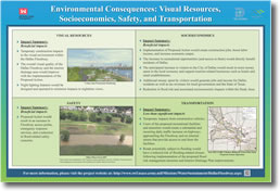 Environmental Consequences: Visual Resources, Socioeconomics, Safety, and Transportation