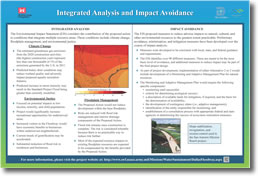 Integrated Analysis and Impact Avoidance