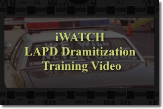 Video: iWATCH LAPD Dramitization Training Video