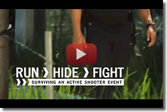 Run. Hide. Fight. Surviving An Active Shooter Event
