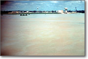 June 1989: Flood Water at Central Wastewater Treatment Plant