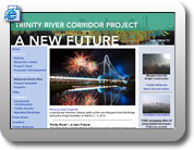 Trinity River Corridor Project home page